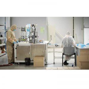 Projecte clau en mà: màquina automàtica de fabricació de màscares